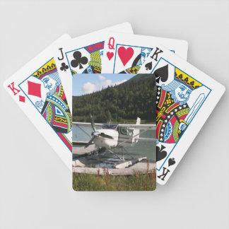 Schwimmen Sie Flugzeug, Trailsee, Alaska 2 Bicycle Spielkarten