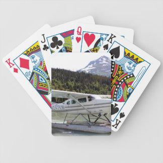 Schwimmen Sie Flugzeug, Trailsee, Alaska 3 Bicycle Spielkarten