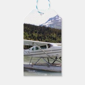 Schwimmen Sie Flugzeug, Trailsee, Alaska 3 Geschenkanhänger