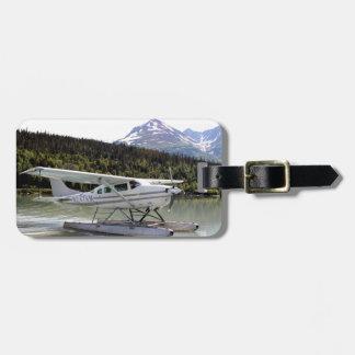 Schwimmen Sie Flugzeug, Trailsee, Alaska 3 Kofferanhänger