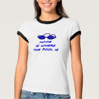 Schwimmen-Witz - lustiges T-Stück für Schwimmer T-Shirt