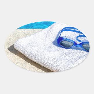 Schutzbrillen aufkleber for Swimming pool aufkleber