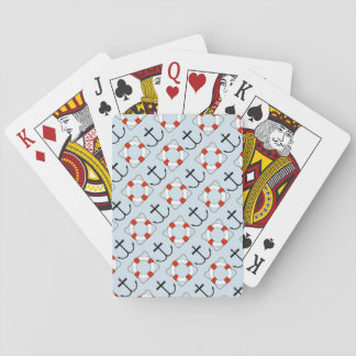 Schwimmweste-und Anker-Spielkarten Spielkarten