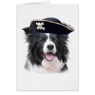 Schwindliger Dogz~Border Collie Card~Halloween Karte