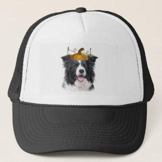 Schwindliger Dogz~Border Collie Mug~Halloween Truckerkappe