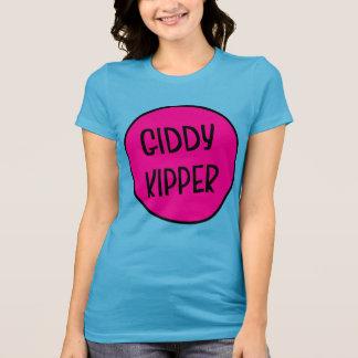 Schwindliger Kipper, das T-Stück der lustigen T-Shirt