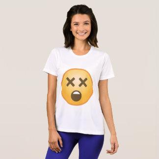 Schwindliges Emoji T-Shirt