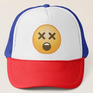 Schwindliges Emoji Truckerkappe
