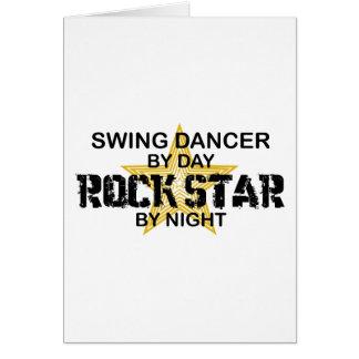 Schwingen-Tänzer-Rockstar bis zum Nacht Karte