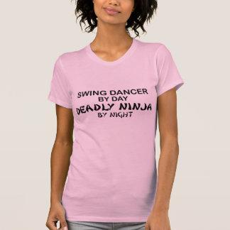 Schwingen-Tänzer tödliches Ninja bis zum Nacht T-Shirt