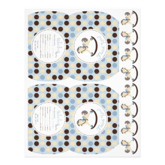 SchwingpferdeGastgeschenk-Minikasten 21,6 X 27,9 Cm Flyer