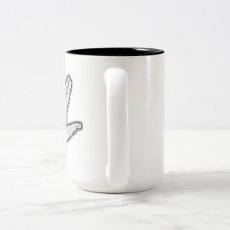 Sci-Five Kaffee-Tasse Zweifarbige Tasse