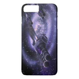 Science Fiction-Raumschiffe iPhone 8 Plus/7 Plus Hülle