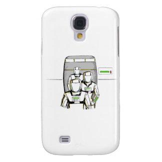Sciencefiction-Astronauten Galaxy S4 Hülle