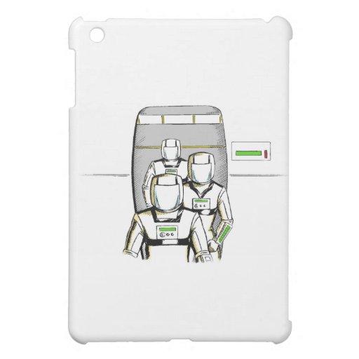 Sciencefiction-Astronauten Hüllen Für iPad Mini