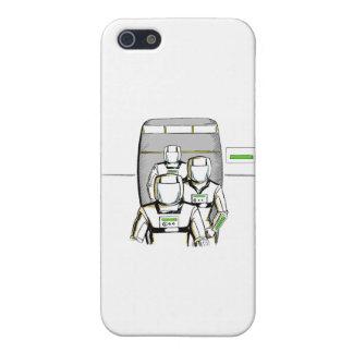 Sciencefiction-Astronauten iPhone 5 Cover