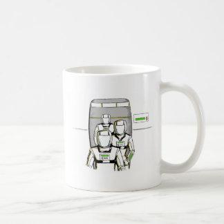 Sciencefiction-Astronauten Kaffeetasse