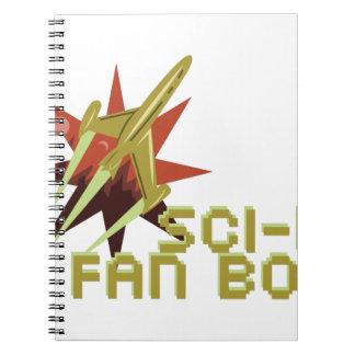 Sciencefiction-Fan Notizblock