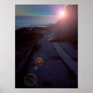 Sciencefiction-Sonnenuntergang-San- PedroGezeiten- Poster