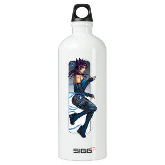 Sciencefictionanime-Mädchen Aluminiumwasserflasche