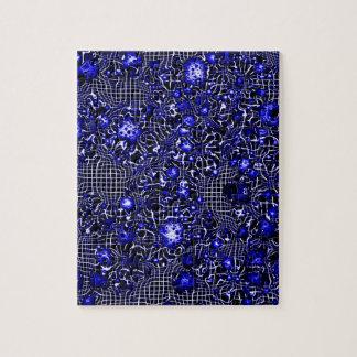 Sciencefictionphantasie-Kosmosblau Puzzle