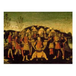 Scipio Africanus, römischer General Postkarte