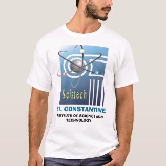 SCISTECHLOGO, ST. CONSTANTINE, INSTITUT VON SCI… T-Shirt