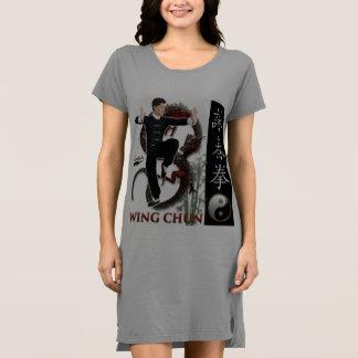 "Scolletta ""Flügel Chun"" t-Kleid Kleid"