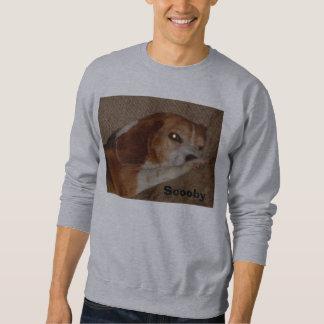 Scooby auf Couch Sweatshirt
