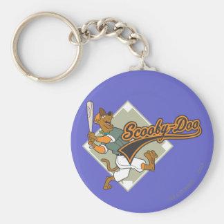 Scooby Doo Baseball Standard Runder Schlüsselanhänger