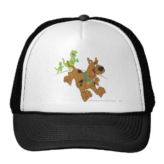 Scooby Doo Dinosaurier Chasing2 Trucker Caps