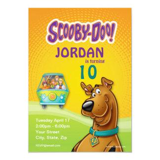 Scooby Doo Geburtstag 12,7 X 17,8 Cm Einladungskarte
