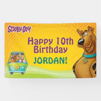 Scooby Doo Geburtstag Banner
