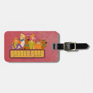 "Scooby-Doo | ""Groovy Gruppen-"" Retro Gepäckanhänger"