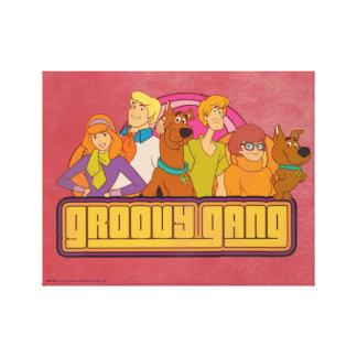"Scooby-Doo | ""Groovy Gruppen-"" Retro Leinwanddruck"