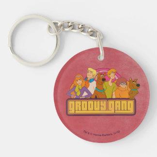 "Scooby-Doo | ""Groovy Gruppen-"" Retro Schlüsselanhänger"