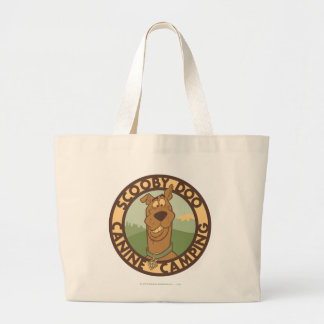 "Scooby Doo ""Hunde- Camping "" Jumbo Stoffbeutel"