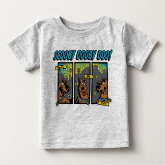 Scooby-Doo, in dem Sie Comic-Platten sind Baby T-shirt