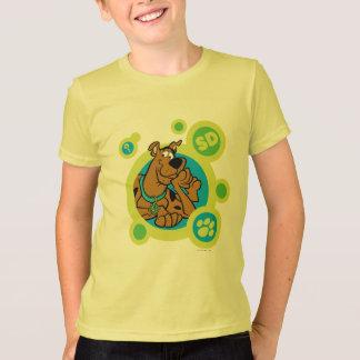 Scooby-Doo kreist Sd-Abzeichen ein T-Shirt