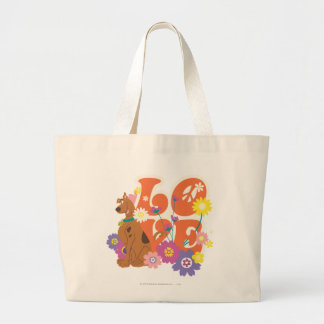 "Scooby Doo ""Liebe "" Jumbo Stoffbeutel"