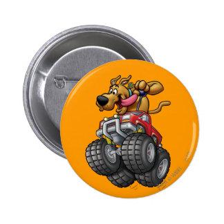 Scooby Doo Monster Truck1 Runder Button 5,7 Cm