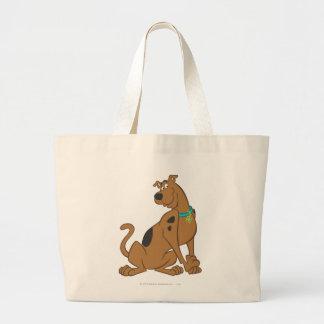 Scooby Doo niedlichere als niedliche Pose 12 Leinentasche