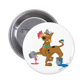 Scooby Doo Paint3 Runder Button 5,7 Cm
