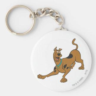 Scooby Doo Pose 39 Standard Runder Schlüsselanhänger