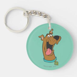 Scooby Doo Pose 49 Beidseitiger Runder Acryl Schlüsselanhänger