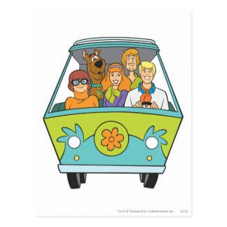 Scooby Doo Pose 71 Postkarte