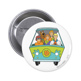 Scooby Doo Pose 71 Runder Button 5,1 Cm