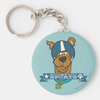 """Scooby Doo """"Scooby-Doo trägt """" zur Schau Standard Runder Schlüsselanhänger"""