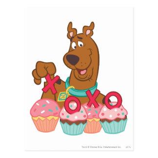 Scooby Doo - Scooby XOXO kleine Kuchen Postkarte