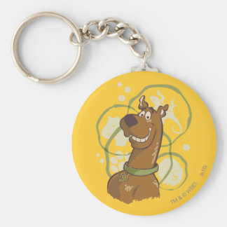 Scooby Doo Smile1 Standard Runder Schlüsselanhänger